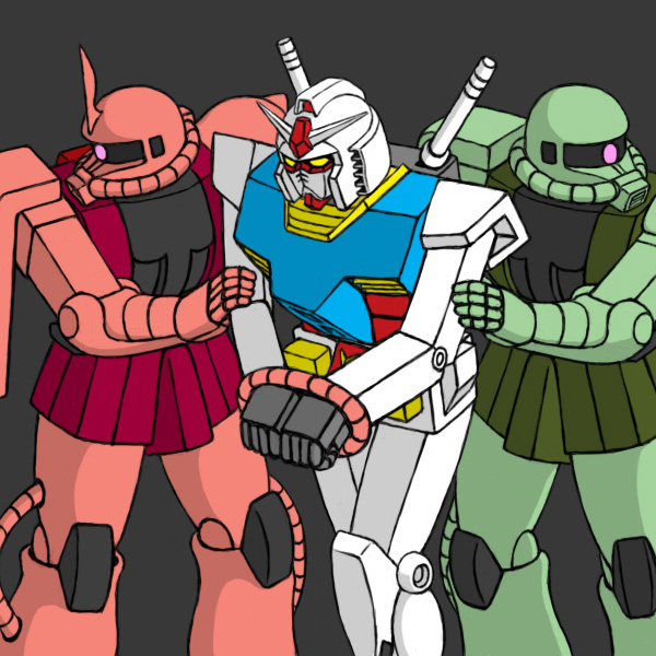 __rx_78_2_zaku_zaku_ii_zaku_ii_f_j_and_zaku_ii_s_char_custom_gundam_and_mobile_suit_gundam_drawn_by_sanpei3__1dc094f31fccd130f345858ff26fdf6e.jpg