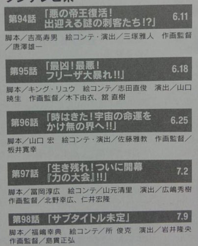 dragon-ball-super-episode-94-to-98-episode-titles-leaks-rumors-translated-from-scans-by-ken-xyro-scanned-from-magazine